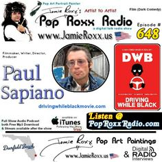 🎧 Tonight's Episode (#648) of on the Pop Roxx Radio Talk Show, where our Featured Guests were:  Paul Sapiano, #Filmmaker, &  Dominique Purdy ( Driving While Black: A Dark Comedy 2018) has now been converted to a #Podcast and is now archived at: ✔ My Website: www.JamieRoxx.us ✔ BlogTalkRadio: http://tobtr.com/s/10497289 ✔ and up for FREE on #iTunes