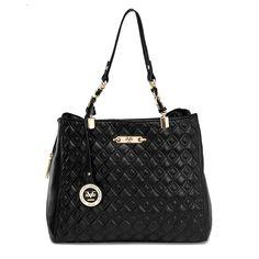 Versace 19.69 Abbigliamento Sportivo - Quilted Triple Entry (Black) -  www.bnyhandbags.com 20d255ac729a8