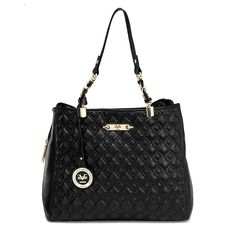 a19d7fddd0e Versace 19.69 Abbigliamento Sportivo - Quilted Triple Entry (Black) -  www.bnyhandbags.com. BNY Handbags