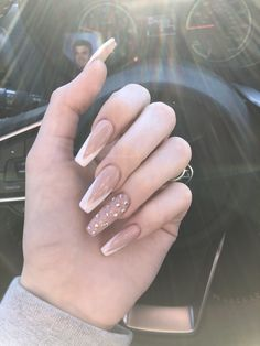 150 Kylie Jenner nails inspired to try this season - 150 kylie each . - 150 Kylie Jenner Nails Inspired To Try This Season – 150 Kylie Jenner Nails Inspired To Try This - Perfect Nails, Gorgeous Nails, Pretty Nails, Hair And Nails, My Nails, Nagel Bling, Kylie Jenner Nails, Coffin Nails Designs Kylie Jenner, Nagellack Trends