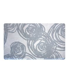 Look at this Slate Blue Swirls Memory Foam Mat on #zulily today!