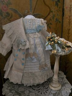 ~~~ Most Beautiful French Bebe Three Piece Costume ~~~ from whendreamscometrue on Ruby Lane