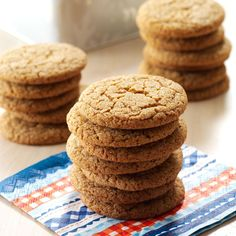 Molasses Cookie Mix Recipe -These spicy, old-fashioned treats are sure to be a hit with your family and friends. For holiday gift giving, I put a batch of this cookie mix in an attractive basket along with the recipe and a festive tea towel. —Barbara Stewart, Portland, Connecticut