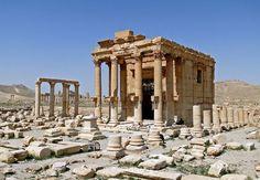 Palmyre (Syrie) - Temple de Baalshanin
