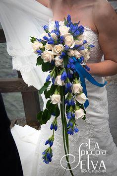 Fiori BLU per matrimonio