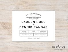 Bold Modern Invitation Suite | DIY Printable PDF or Handmade, Modern Invitation, Simple Modern Wedding Invitation, Minimalist Design