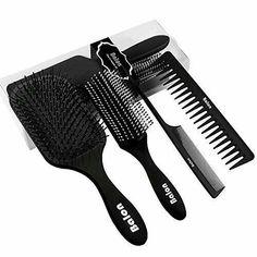 Best Hair Brush, Hair Brush Set, Brush Kit, Hair No More, Curly Hair Styles, Natural Hair Styles, Detangling Hair Brush, Tangled Hair, Black Hair Care