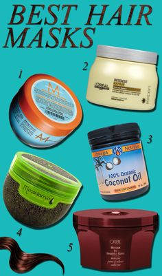 Our Favourite Hair Masks - We list the best hair masks to repair split-ends and dry hair