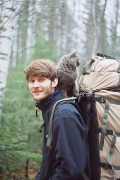 boys with beards with cats with nature?! dream come true.....    HAHAHA @Kara Morehouse Woodlief @Alison Hobbs Danielle.   Totally agree!