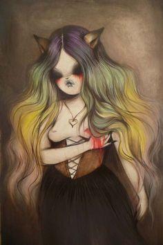 MISS VAN. #missvan http://www.widewalls.ch/artist/miss-van/