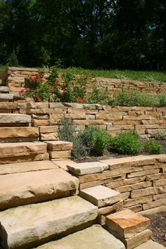 Stone Walls & Paver Patio | Projects | Kingdom Landscapes