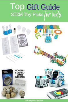 Top Pick of STEM Toys for kids, Fun and educational kid approved toys, Gift Guide to the best STEM toys for kids. #Stemtoys #giftguide #christmas #Christmastoys