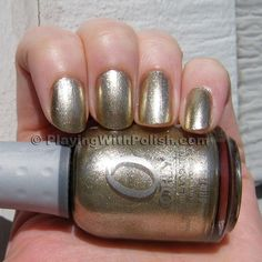 Orly Luxe - pretty gold