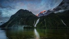Bowen Falls @ Milford Sound, New Zealand from #treyratcliff at www.StuckInCustom... - all images Creative Commons Noncommercial.