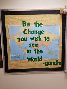 Be the Change Bulletin Board