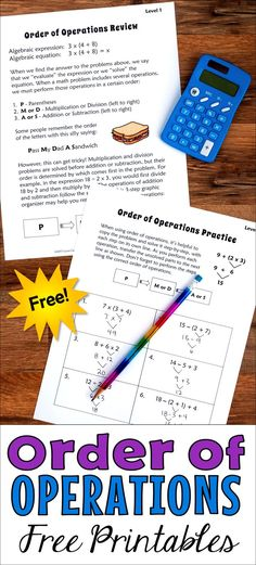 Order of operations can be frustrating to teach, but it doesn't have to be. Read this post by Laura Candler to discover some fun and effective strategies for teaching order of operations, and download free printables to go with the lesson.