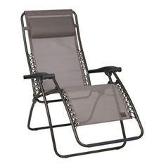 Lafuma RSXA Recliner Garden Chair - Ecorce (LFM1226) at M W Partridge & Co Ltd