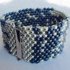 """Bracelet """"Star Noir"""" Hand-Woven"""