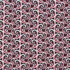 New Zealand Maori Riporipo Design Quilting Fabric FQ or Metre *New ... : quilting fabric nz - Adamdwight.com