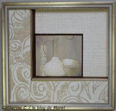 Catherine C./ élève de Manel / trio de biseaux Manet, France, Blog, Home Decor, Picture Frame, Frames, Fantasy, Painted Canvas, Decoration Home
