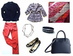 Hermes accessories and RV pumps with spring capsule wardrobe pieces