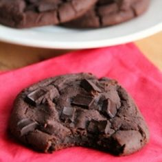 These chocolate brownie cookies are so secretly healthy that no one will ever know.