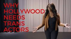 """Hey Hollywood here's a beautiful video telling you exactly how to do trans artists justice   In 2015 16 percent of Americans knew at least one trans person. The remaining 84 percent learned about the trans community through television and film  and that year there was one trans character in a major studio movie.  In media studies there's a concept of the """"burden of representation""""  that when there's only one character of a particular gender race or sexual identity that they become…"""