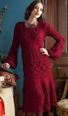 #07 Textured Dress pattern by Natalya Ovseyenko http://www.ravelry.com/projects/caruba/07-textured-dress (errata)