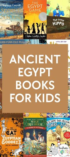 Ancient Egypt Books for Kids | Read Through Ancient Egypt