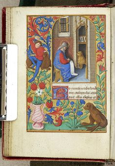 Book of Hours, M.248 fol. 17v - Angers entre 1465 et 1470 - Images from Medieval and Renaissance Manuscripts - The Morgan Library & Museum