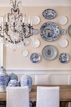 the prettiest plate wall