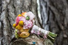 Stacy K Snapshot: Sherbet Wedding | Spring Wedding Flowers
