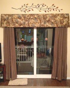 13 Best Patio Door Valance Images Cornice Box Cornice Ideas Curtains