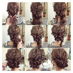 Updo for long hair ❤ liked on Polyvore featuring beauty products, haircare and hair styling tools