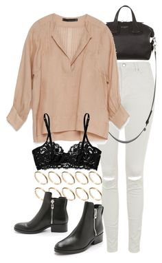 """""""Untitled #7574"""" by nikka-phillips ❤ liked on Polyvore featuring ASOS, Topshop, Givenchy, Zara, 3.1 Phillip Lim and La Perla"""