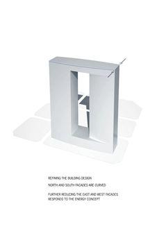 Galeria de Primeiro lugar no concurso das Torres duplas para o Campus de Alta Tecnologia e Pesquisa / KSP Jürgen Engel Architekten - 4