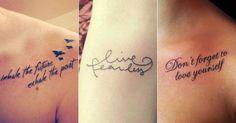 Há tempos as tatuagens deixaram de ser sinônimo de rebeldia e transgressão e, hoje, são bastante democráticas, enfeitando corpos de motoqueiros a Patricinhas. No entanto, o que não muda é a difícil tarefa de definir exatamente o que você deseja deixar marcado para sempre na sua pele. Confira exemplos de tattoo