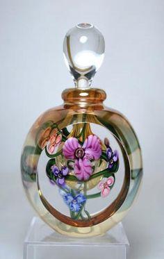 Art Glass Perfume Bottles