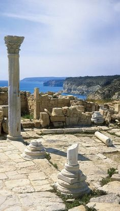 Kourion Archaeological Site ~ Episkopi, Limassol District, Cyprus