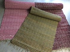 Recycled Fabric, Woven Rug, Persian Rug, Rug Making, Scandinavian Style, Oriental Rug, Beach Mat, Pattern Design, Projects To Try