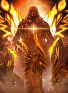 Godzilla king of the monsters All Godzilla Monsters, Godzilla Comics, King Kong, Monster Verse, Godzilla Vs King Ghidorah, Original Godzilla, Godzilla Franchise, Godzilla Wallpaper, Deviantart