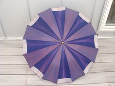 Vintage Purple Parasol.