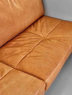 Leather Banquette Sofa Upholstery | Rosalie House by Owen Architecture