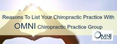 Here is why you should trust OMNI Chiropractic Practice Group when listing Chiropractic practices for sale.   Confidentiality is Paramount
