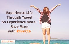 Experience Life Through Travel So Experience More. Save More with RTrvlClb   #Affordableluxuryvacationpackagesforclubmembers, #Travelagentaffiliationforlowcostpackages, #Bestluxuryresortpackagesforclubmembers,#affordableallinclusiveluxurypackages, #luxuryresortvacationpackagesforclubmembers