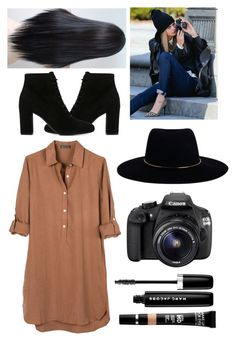 """""""Taking pictures with Cara"""" by love123456789101112 ❤ liked on Polyvore featuring United by Blue, Yves Saint Laurent, Zimmermann, MAKE UP FOR EVER, Eos and Marc Jacobs"""