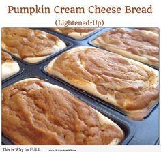 Pumpkin Cream Cheese Bread - http://www.thisiswhyimfull.com/desserts/pumpkin-cream-cheese-bread