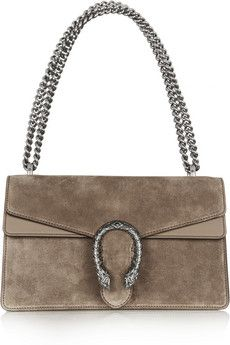 Gucci Dionysus small suede shoulder bag | NET-A-PORTER