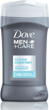 Men's Antiperspirant Deodorant | Clean Comfort by Dove Men+Care