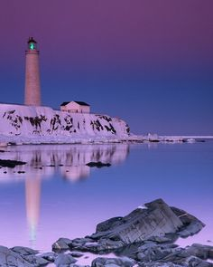 Lighthouse at Cap des Rosiers, Quebec - so serenely beautiful! Beautiful World, Beautiful Places, Grands Lacs, Light Of The World, Parc National, Wonders Of The World, Places To See, North America, The Good Place